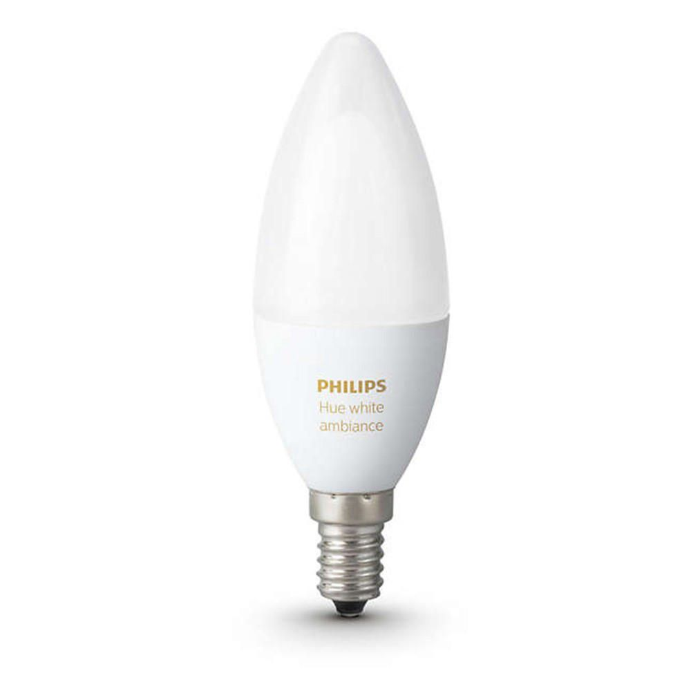 Philips Hue Led Light Philips Hue White Ambiance E12 Candle Dimmable Single Led Light Bulb