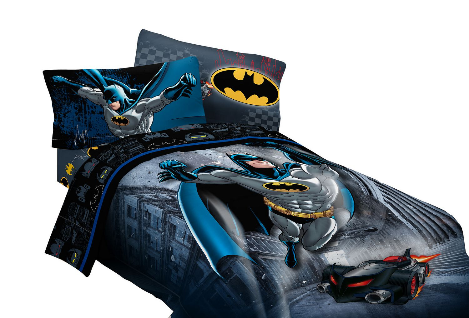 Couverture Lit 2 Places Couvre Lit Pour Lit à 1 Place 2 Places Guardian Speed Batman De Warner Bros