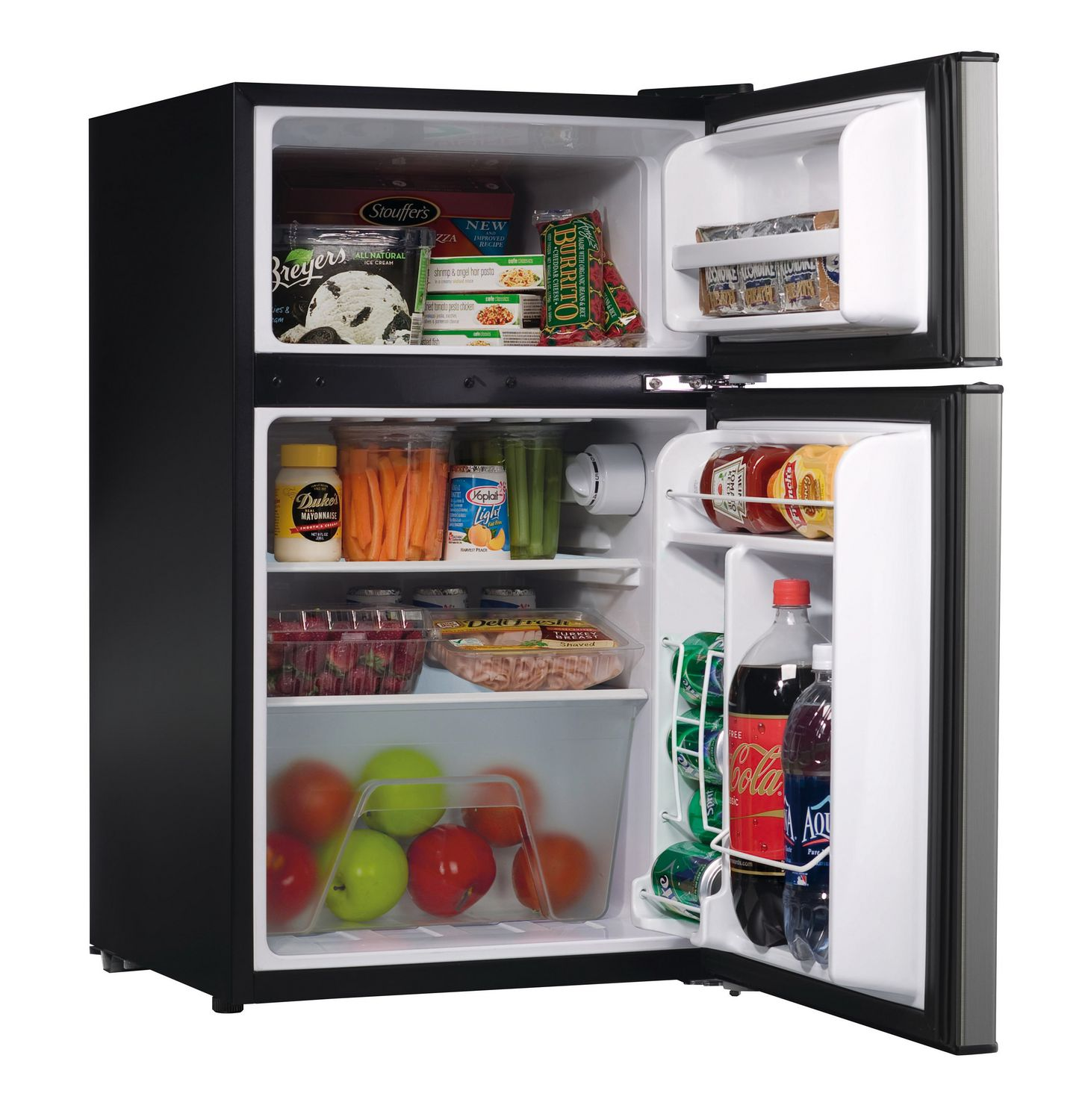 Fridges Canada Whirlpool Energy Star 3 1 Cu Ft Compact 2 Door Refrigerator
