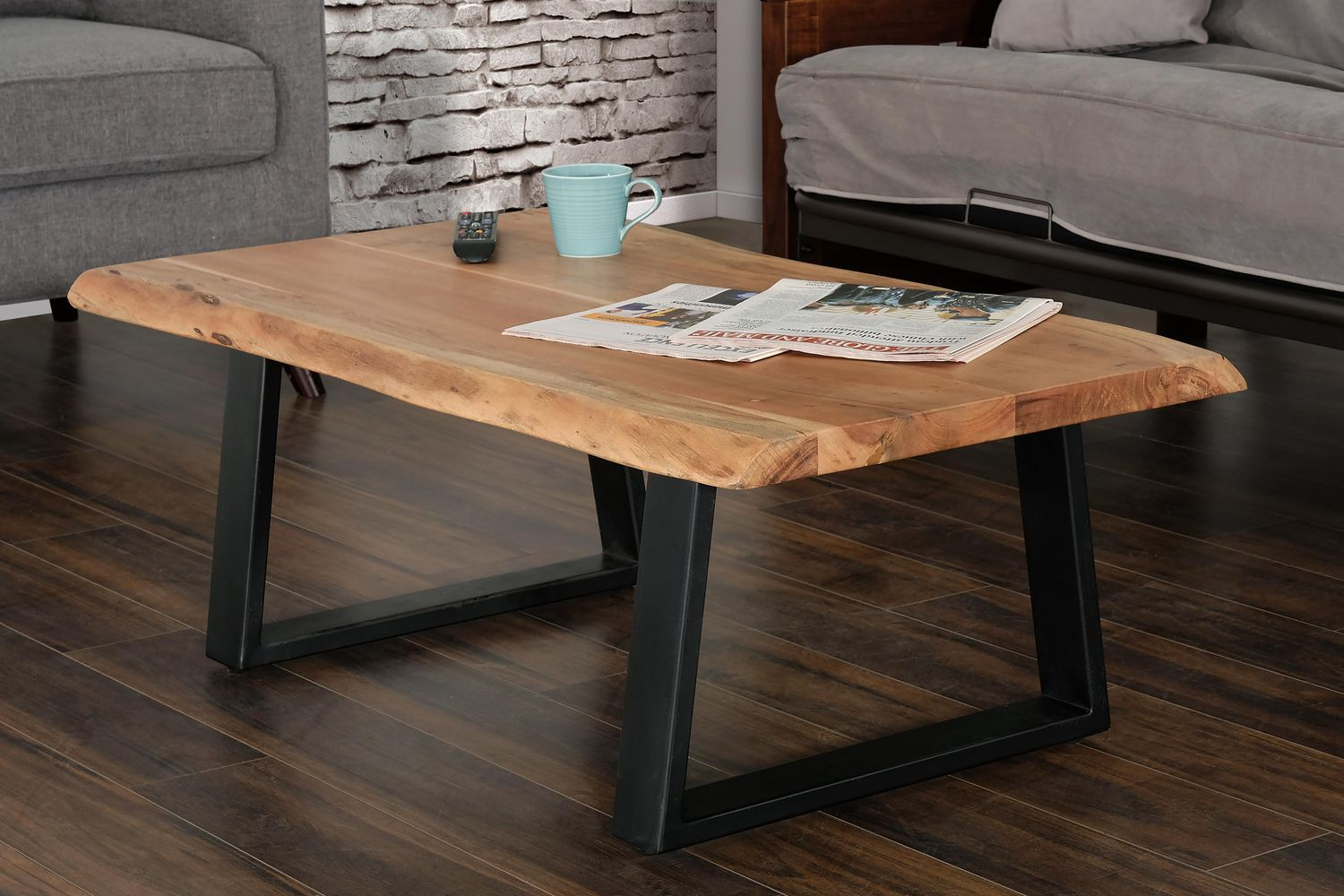 Primo International Pietro Wood And Metal Coffee Table Walmart Canada