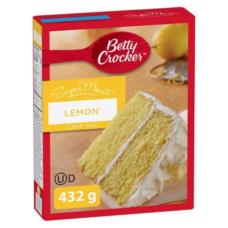 Betty Crocker SuperMoist Lemon Cake Mix | Walmart Canada