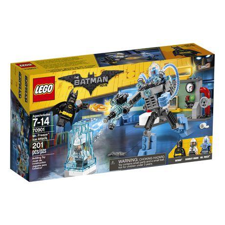 Lego Batman Movie Mr Freeze Ice Attack 70901 Walmart