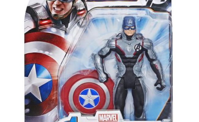 Marvel Avengers Endgame Team Suit Captain America 6 Inch