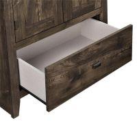 "Ameriwood Farmington 30"" Wide Storage Cabinet, Rustic ..."