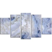 Design Art Agate Stone Background Abstract Canvas Wall Art ...