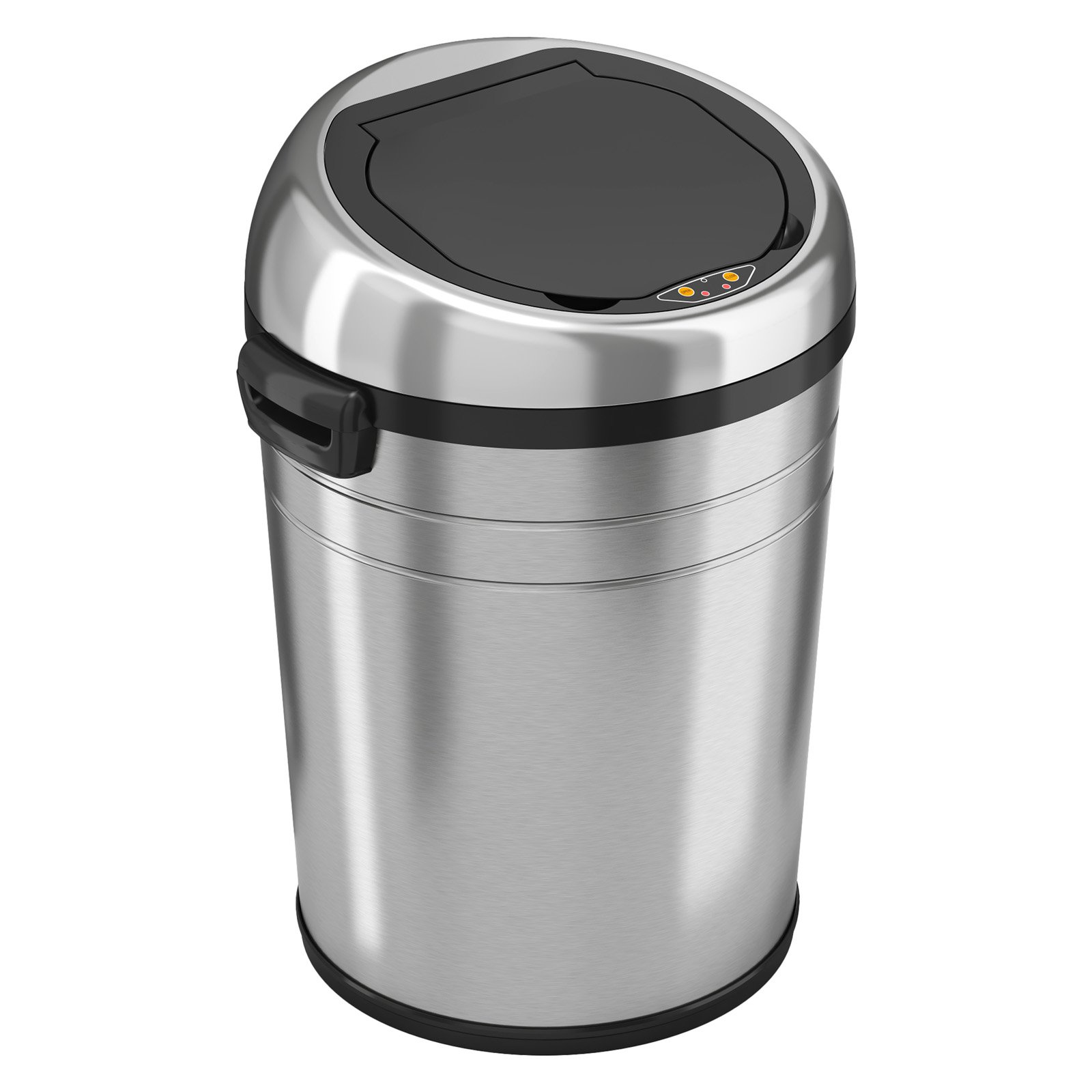 Small White Trash Can With Lid Itouchless It18rc Trashcan Nx Stainless Steel Trash Can
