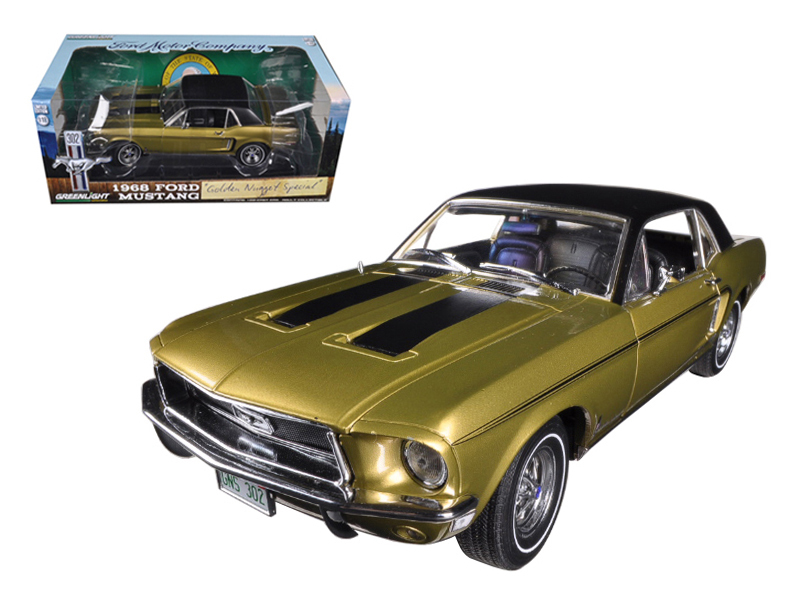 1968 Ford Mustang Golden Nugget Special Sunlit Gold With