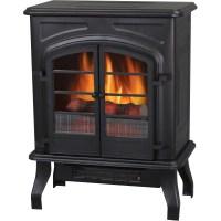 "Electric Stove Heater, 17.5"", Matte Black - Walmart.com"