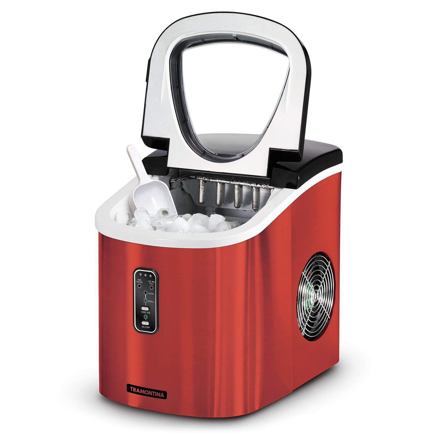 Countertop Ice Maker Walmart Tramontina Stainless Steel Ice Maker Red