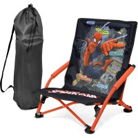 Spider-Man Folding Lounge Chair, Red - Walmart.com