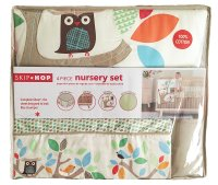 Skip Hop 4 Piece Crib Bedding Set, Treetop Friends Multi ...