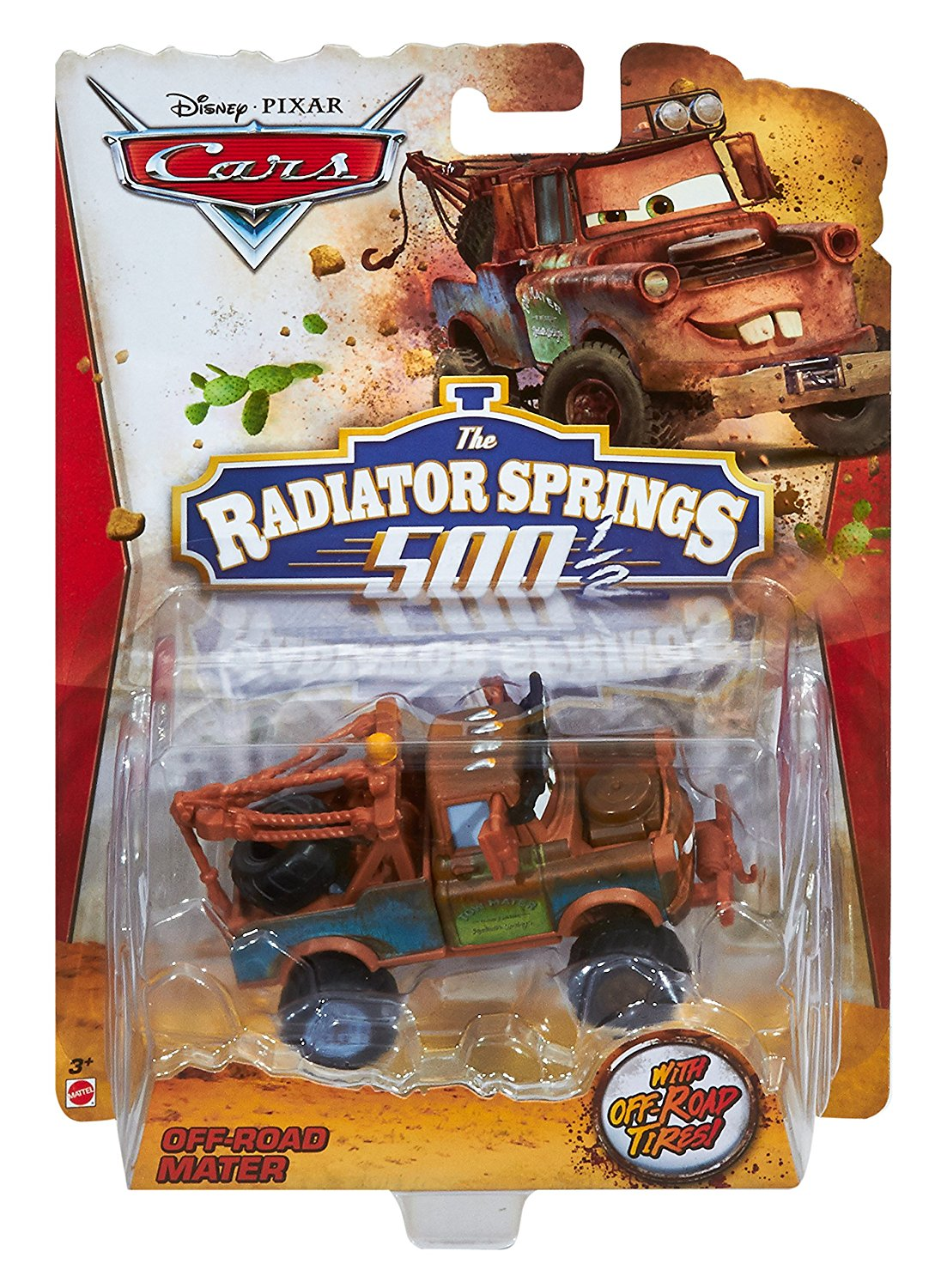 Off Road Lightning Mcqueen Disney Cars Off Road Mater Die Cast Character Vehicle