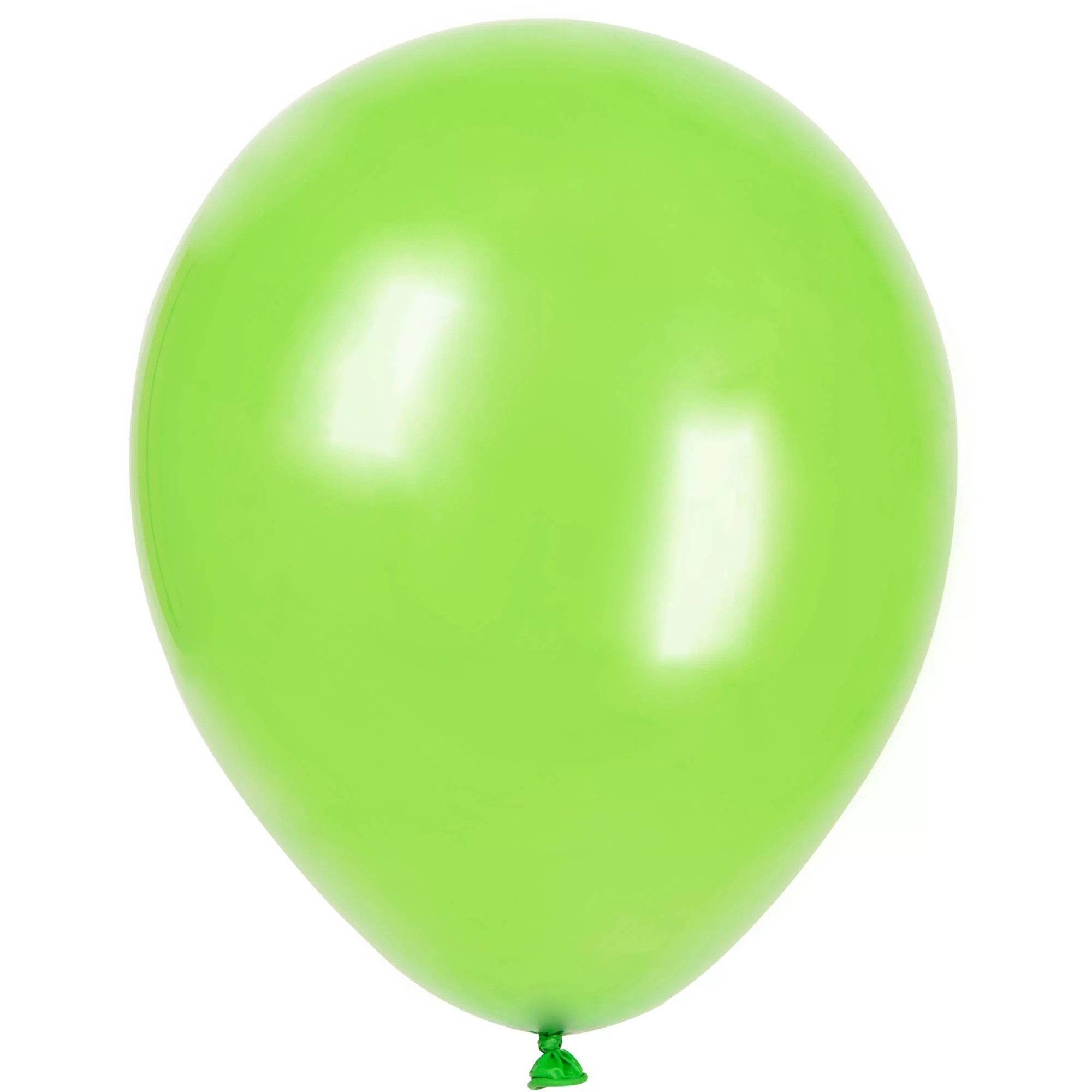Ballons Latex Balloons Lime Green 12in 10ct Walmart