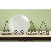 Scroll Plate Stand - Set of 12 - Walmart.com