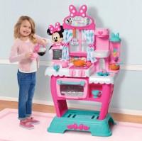 Minnie Mouse Kitchen Play Set Kids Girls Pretend Toys Pink ...
