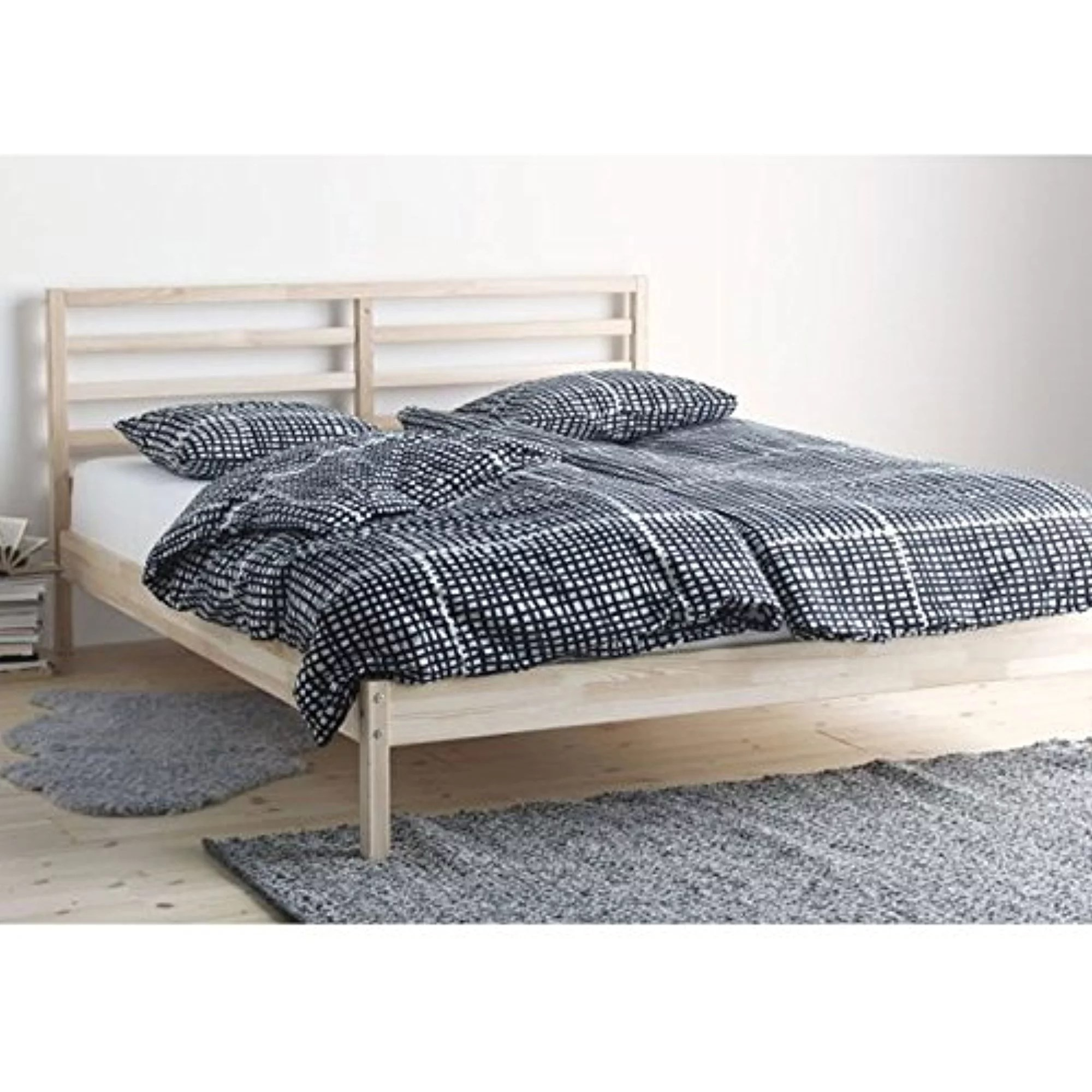 Ikea Full Size Bed Frame Ikea Tarva Full Size Bed Frame Solid Pine Wood Brown 183838 1125 22