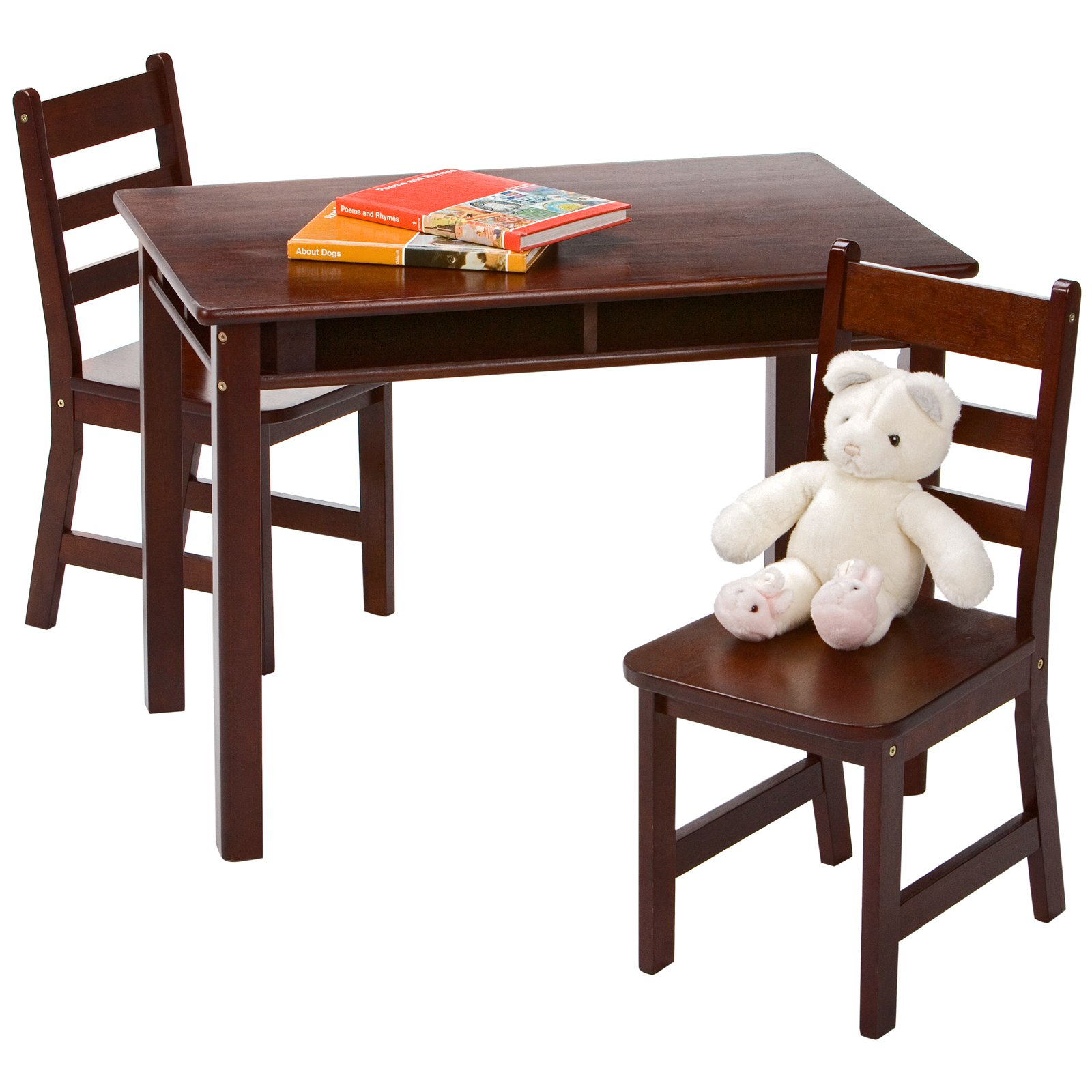 Childrens Table And Chair Set Lipper Childrens Rectangular Table And Chair Set