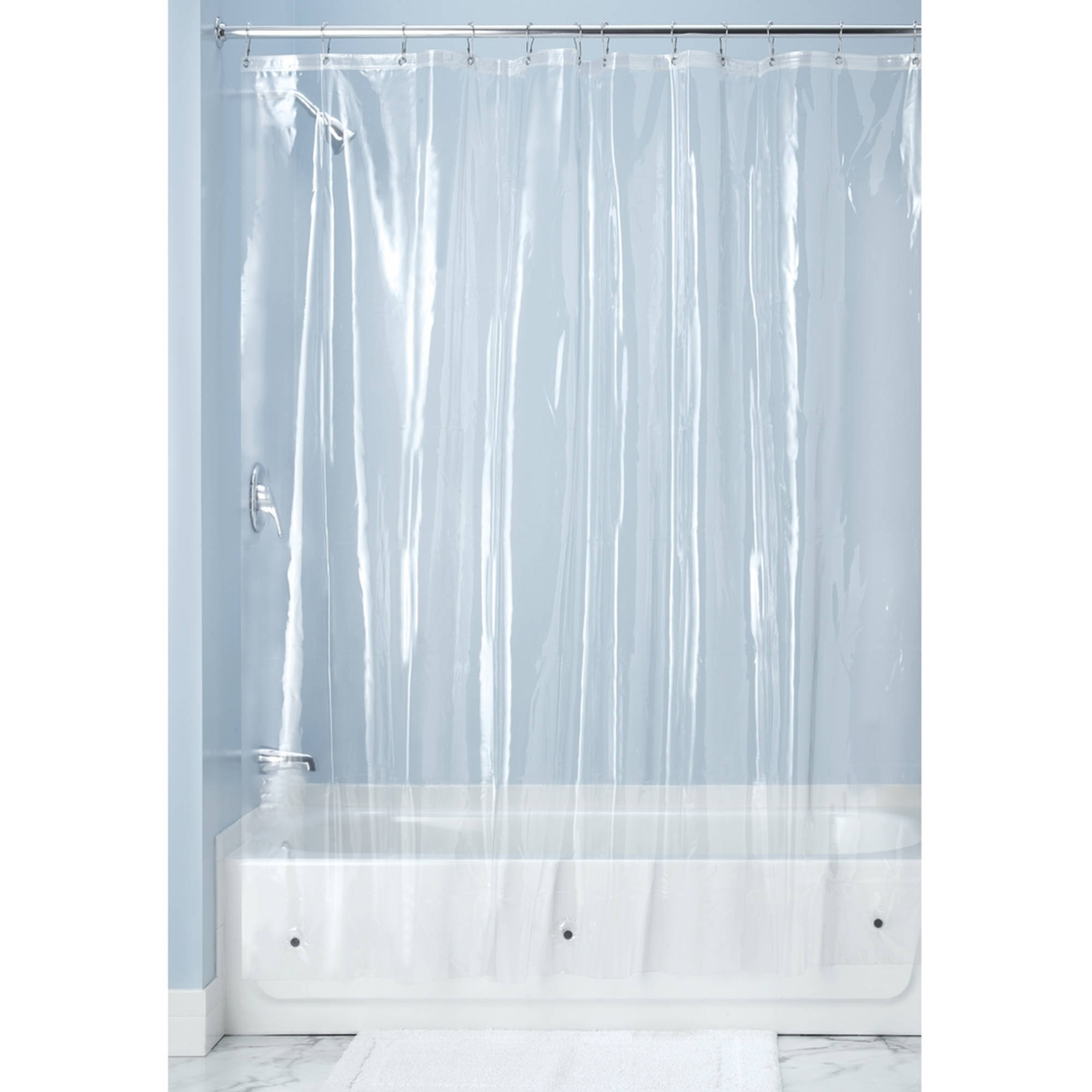 Glass Shower Curtains Interdesign Vinyl Shower Curtain Liner Standard 72