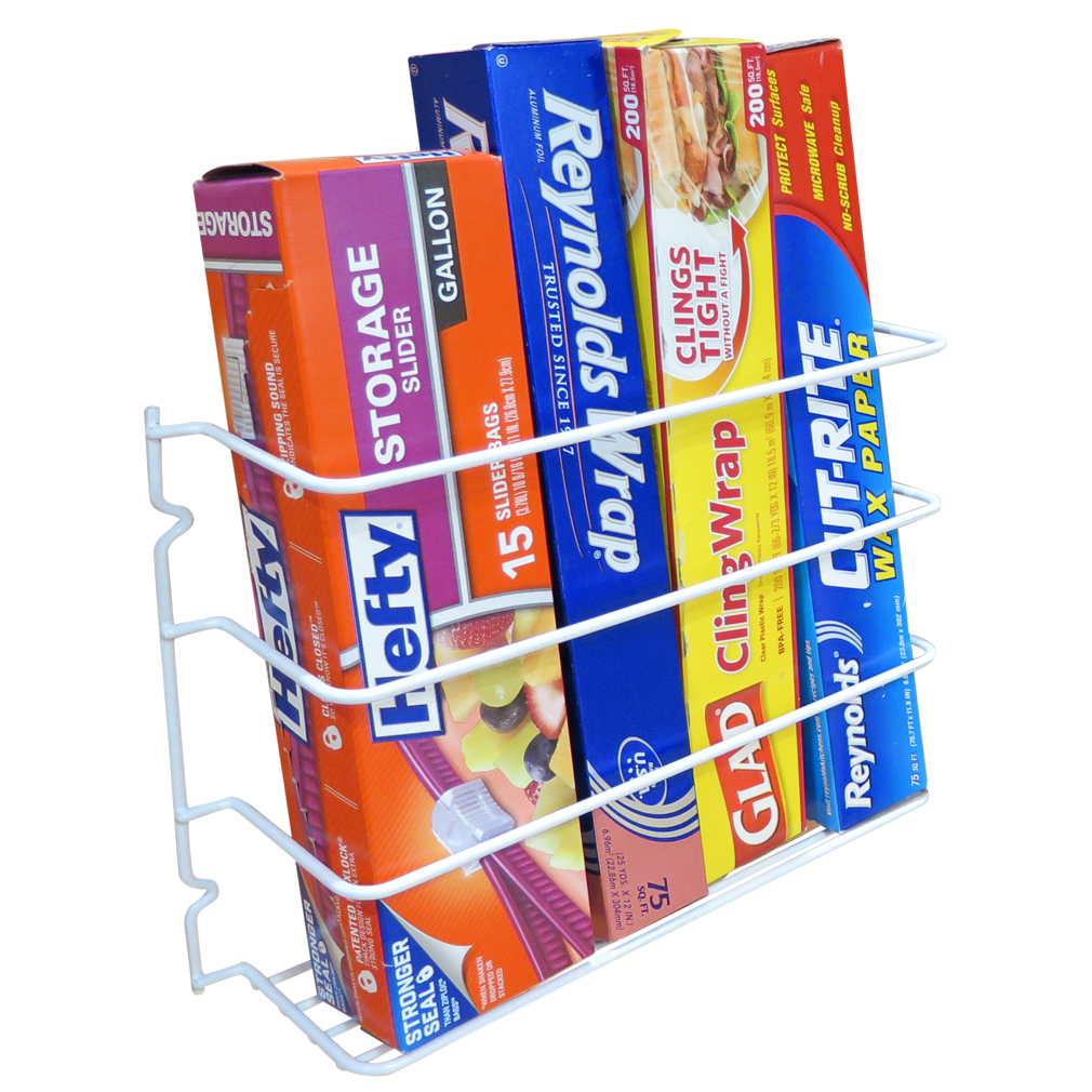 Soft Plus Schrank Evelots Wrap Foil Organizer Rack Kitchen Cabinet Door Wall Plastic Coated Iron