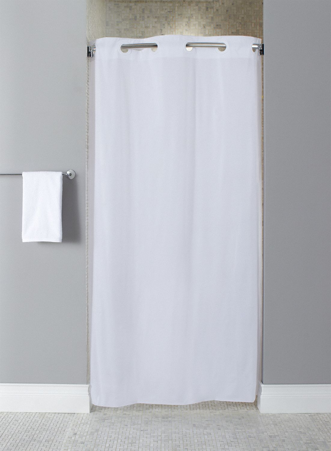 Shower Curtains For Less Hookless 74