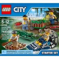 LEGO City Police Swamp Police Starter Set - Walmart.com