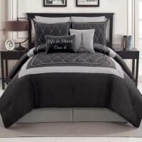 Victoria Classics Versailles 8-Piece Bedding Comforter Set ...