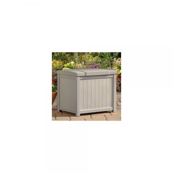 Suncast Premium Durable Resin Small Deck Storage Box