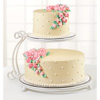 Wilton 2 Tier Floating Cake Stand - Walmart.com