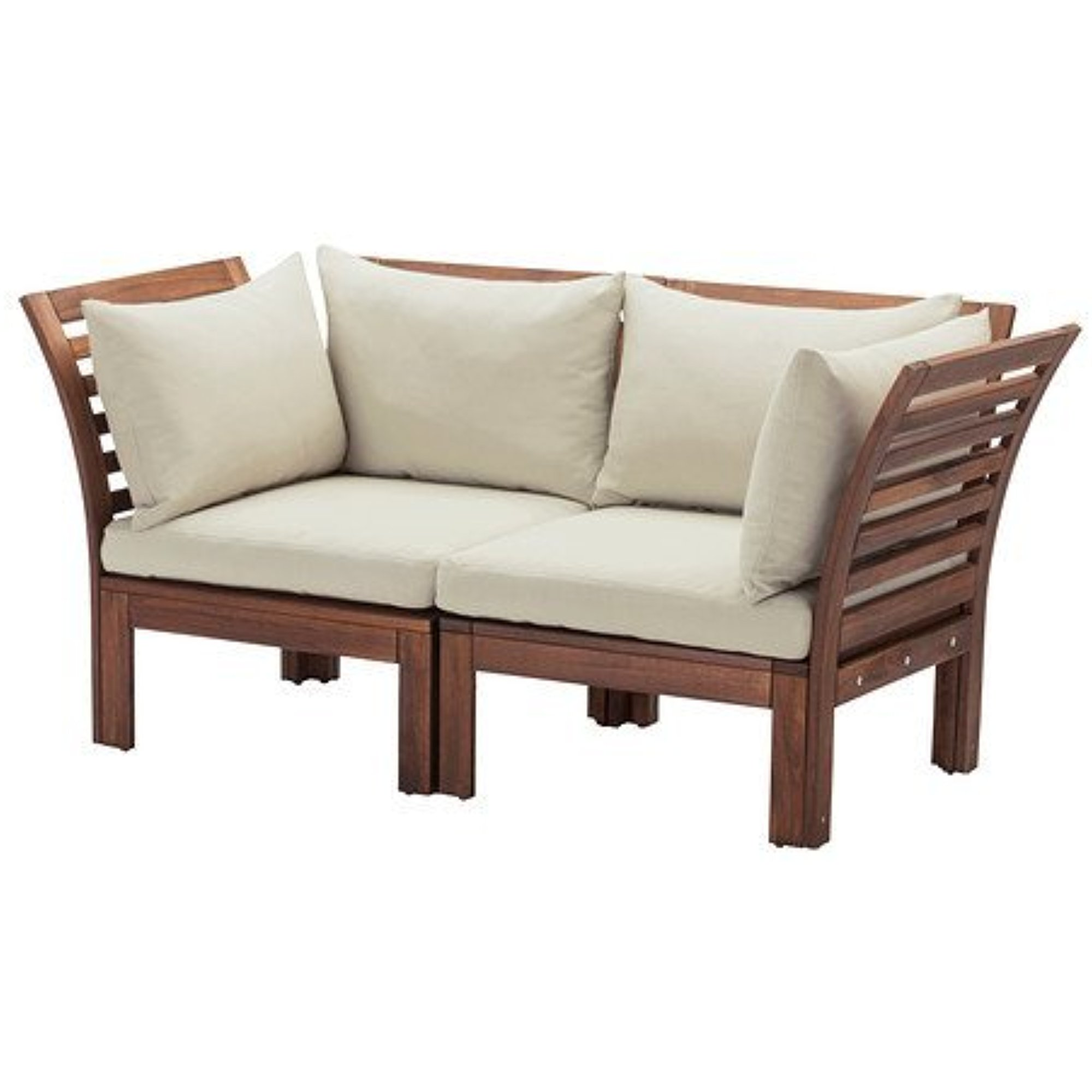 Ikea Loveseat Ikea Loveseat Outdoor Brown Brown Stained Beige 14202 8211 1026