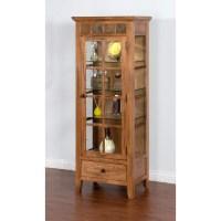 Sunny Designs Sedona Curio Cabinet - Walmart.com