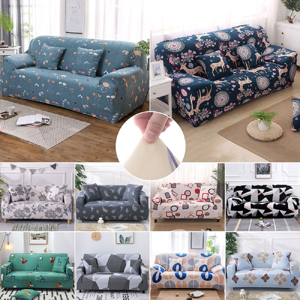 Couch Husse Möbel 40 Styles 1/2/3/4 Seaters Sofa Cover Elastic Stretch Couch Slipcover Protector Möbel & Wohnen Elite-eshop.eu