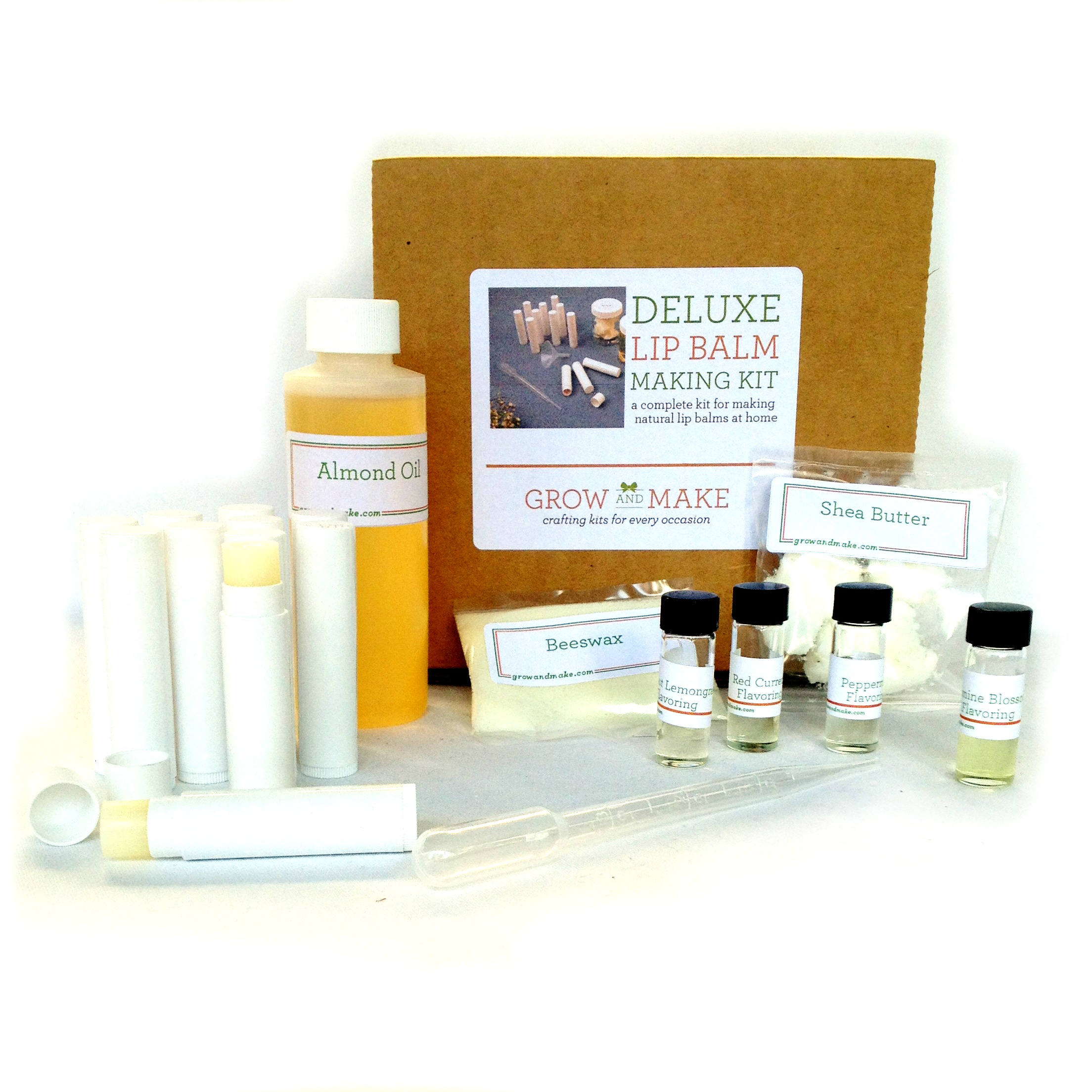 Diy Lip Balm Flavors Popular Flavors Diy Lip Balm Making Kit With Tubes Learn How To Make Home Made Lip Balms