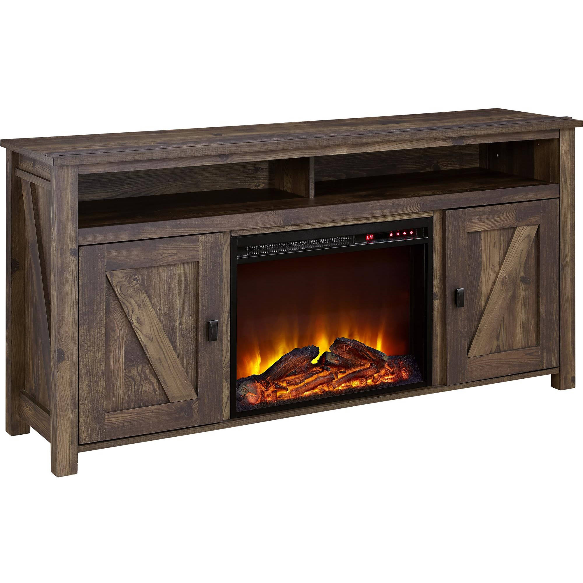 Electric Fireplace.com Ameriwood Home Farmington Electric Fireplace Tv Console For Tvs