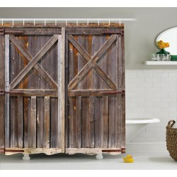 Small Crop Of Rustic Shower Curtains