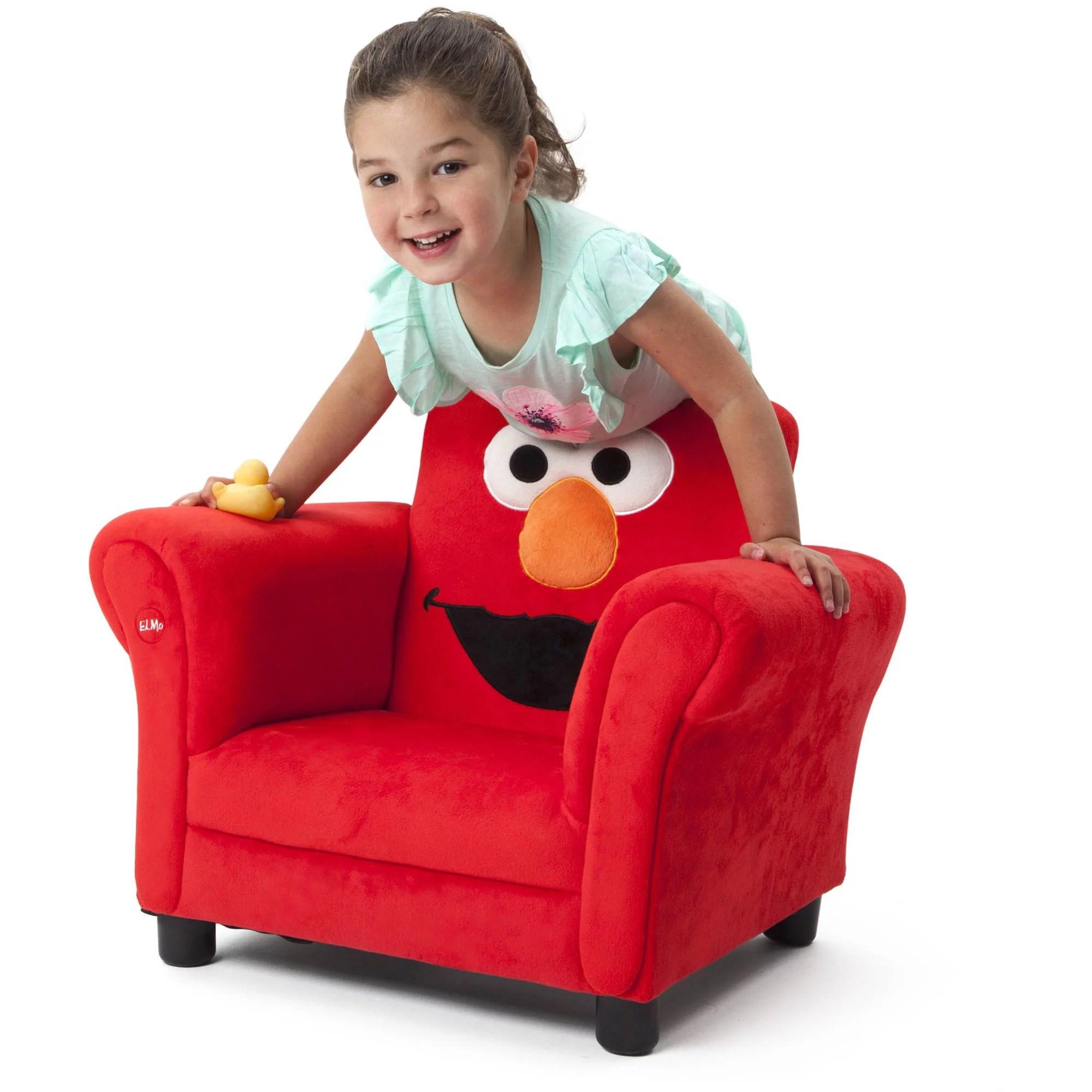 Sesame Street Elmo Upholstered Chair Walmartcom