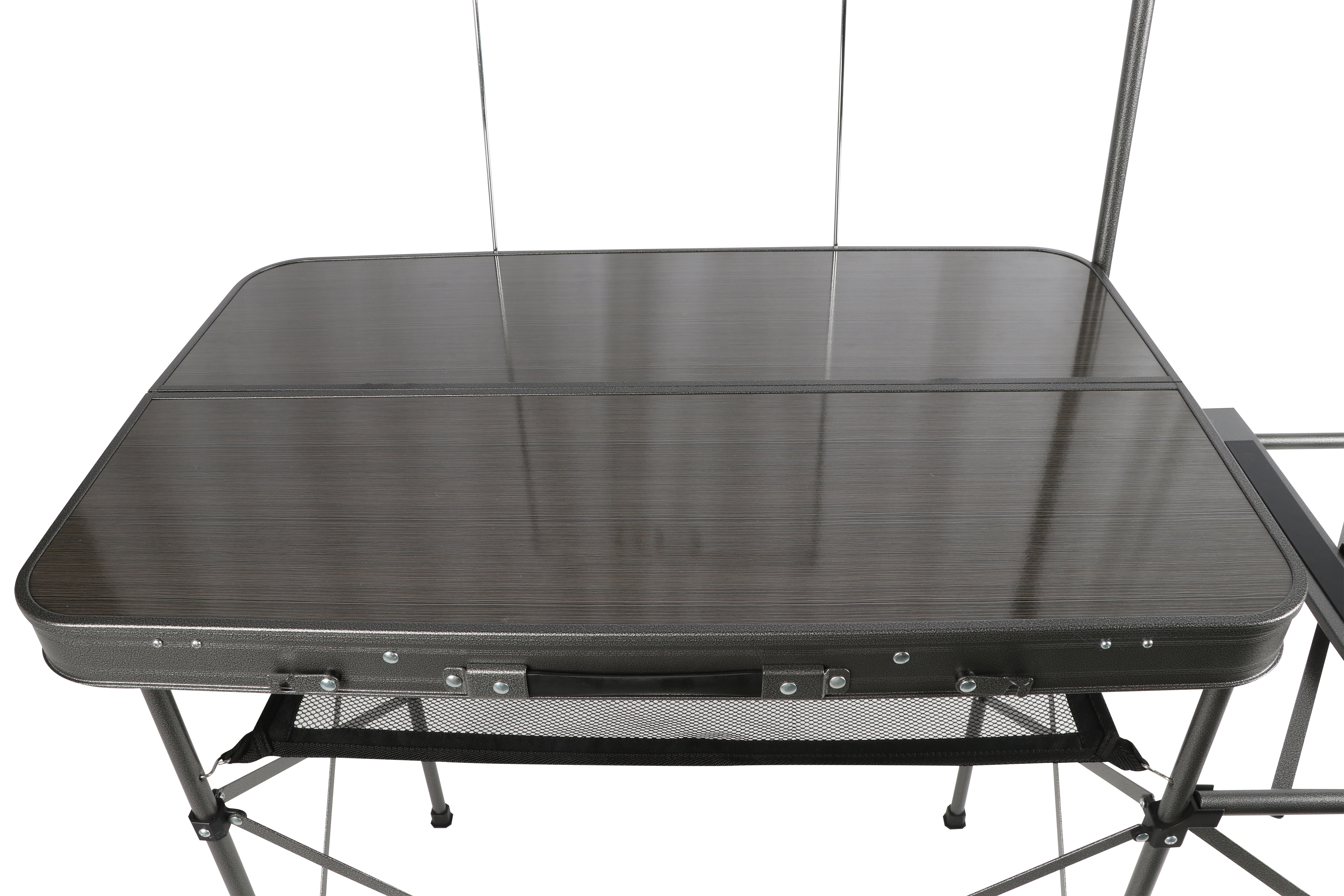 Coleman Outdoor Küche Ozark Trail Deluxe Portable Camp Kitchen Table And Grill Stand