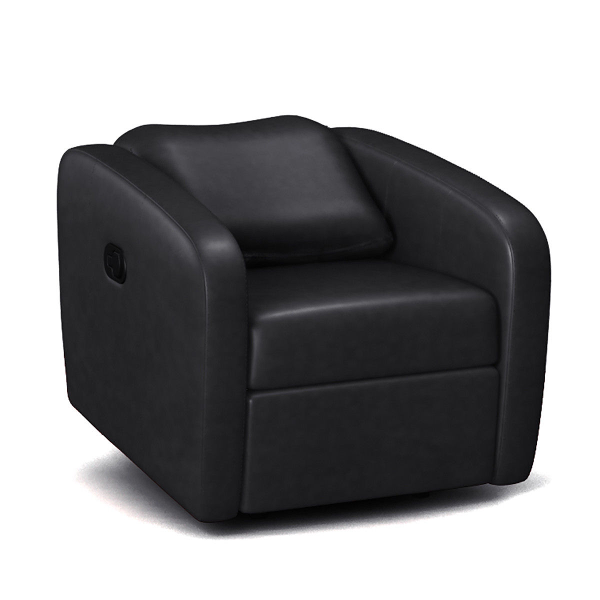 Accent Meuble Fauteuil Inclinable Manual Recliner Chair Contemporary Foldable Back Leather Reclining Chair Sofa