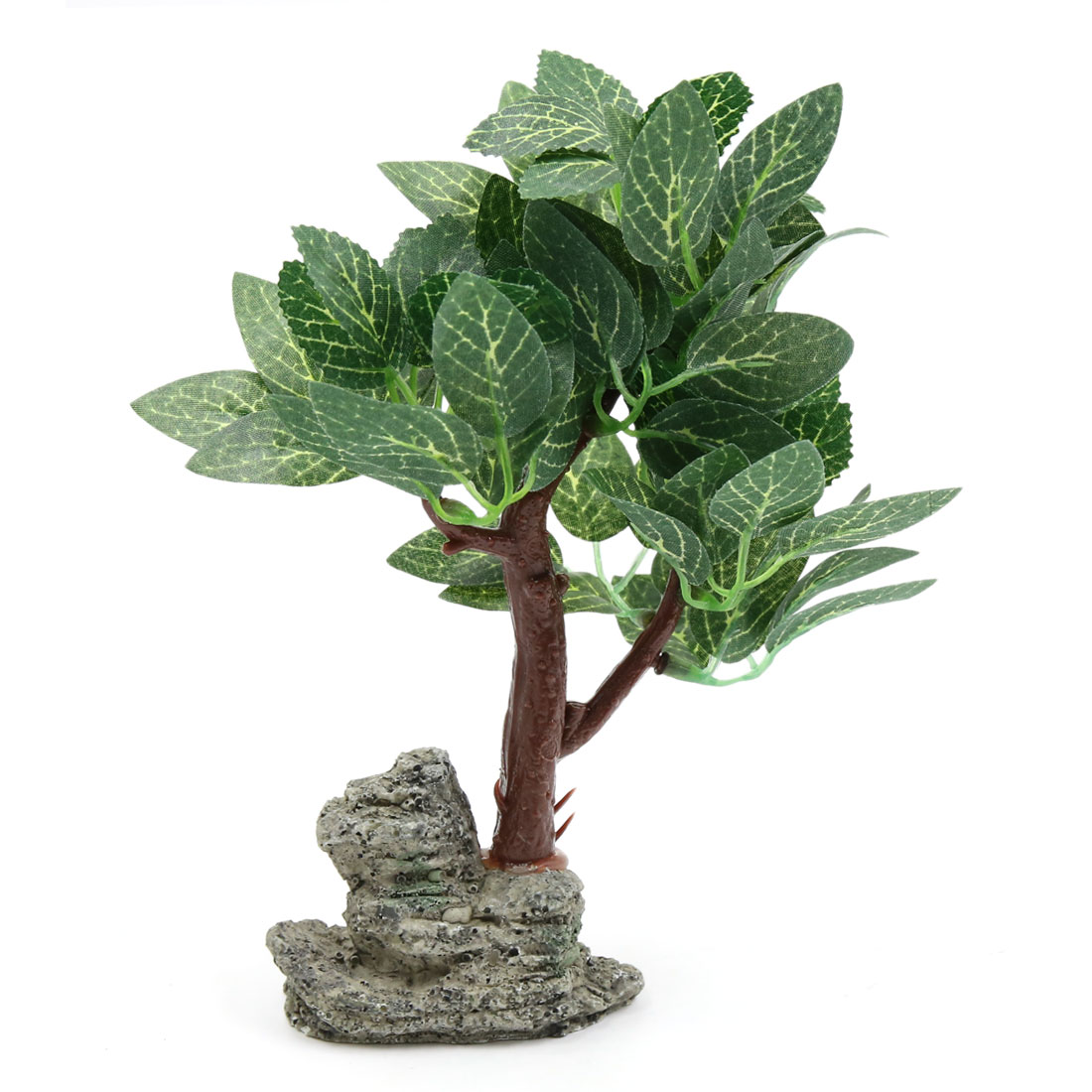 Lifelike Plants Green Plastic Lifelike Plant Aquarium Fishbowl Landscape