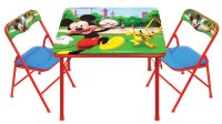 Disney Mickey Mouse Erasable Activity Table and Chairs ...
