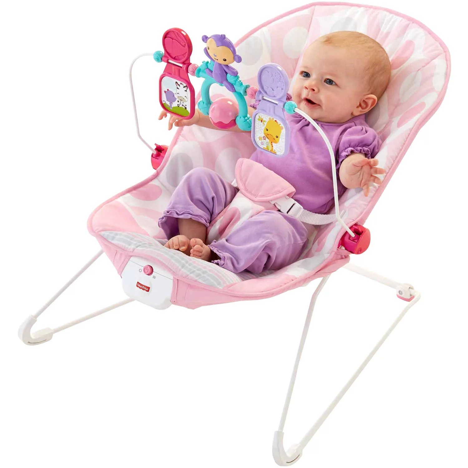 Bouncer Baby Fisher Price Baby S Bouncer Pink Ellipse