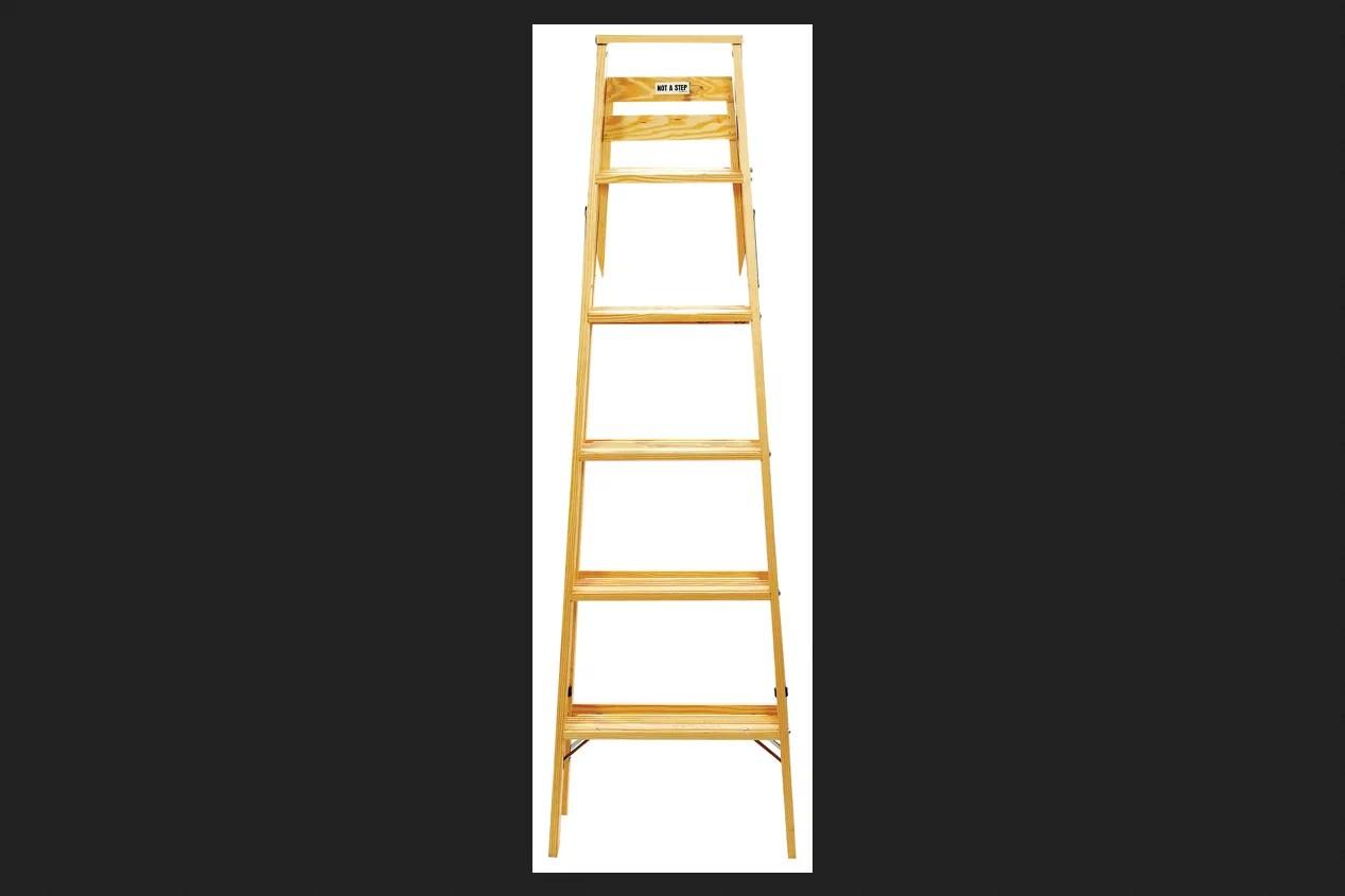 Babcock 8 Ft Wood Step Ladder 225 Lb Type Ii Walmartcom