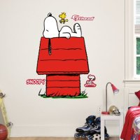Fathead Junior Peanuts Snoopy Wall Decal - Walmart.com
