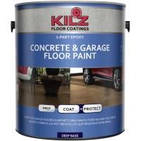KILZ 1-Part Epoxy Concrete and Garage Floor Paint, Gallon ...