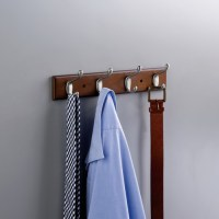 Franklin Brass Coat and Hat Wall Mounted Coat Rack ...