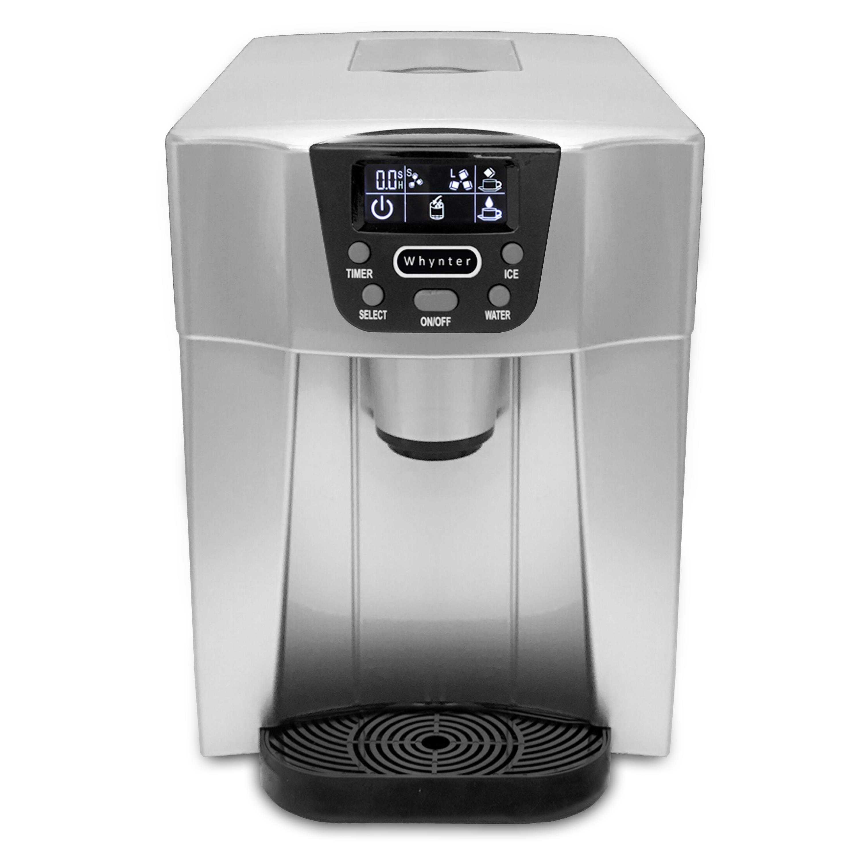 Countertop Ice Maker Walmart Idc 221sc Whynter Countertop Direct Connection Ice Maker And Water