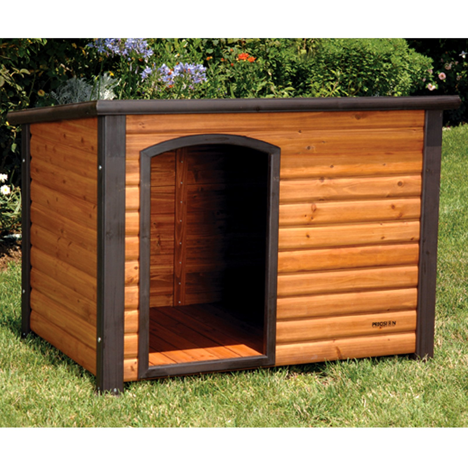 Dog House Precision Outback Log Cabin Dog House