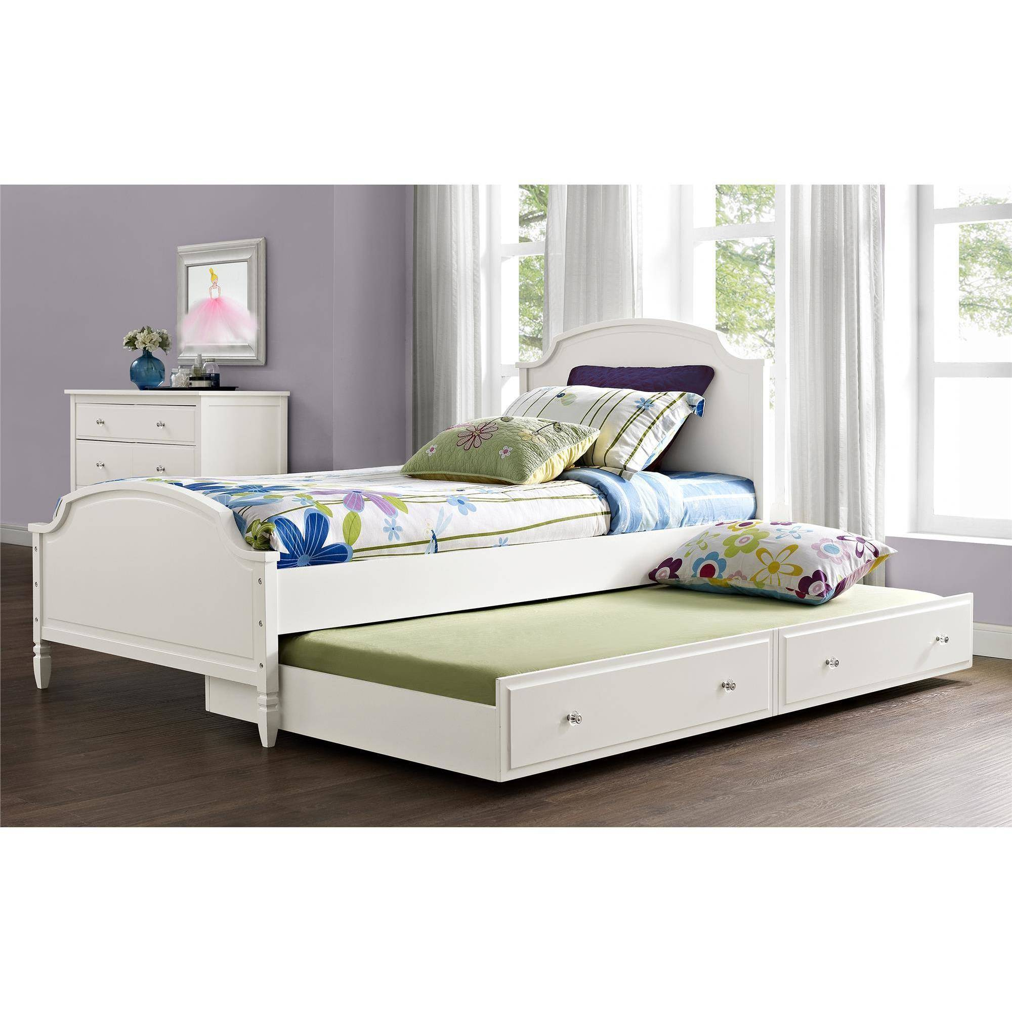 Discount Trundle Beds Better Homes And Gardens Lillian Trundle Bed Only White