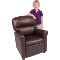 Better Homes and Gardens Faux-Leather Kids Recliner ...