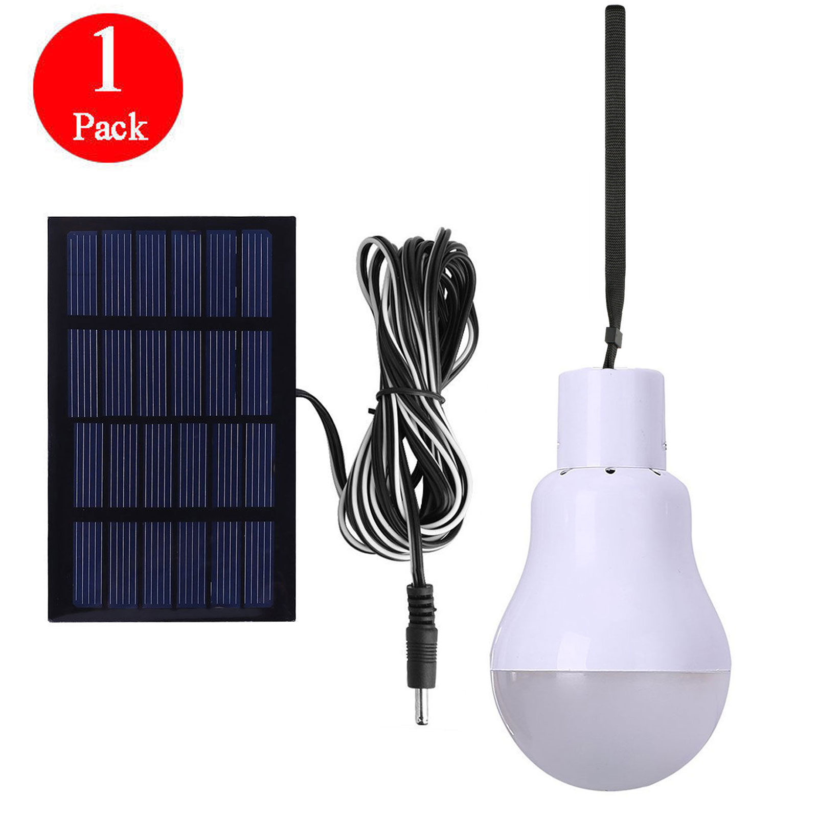 Led Verlichting Met Los Paneel Eeekit Portable Solar Powered Led Bulb Lights Solar Energy Panel Led Lamp Lighting For Hiking Fishing Camping Tent Emergency Use