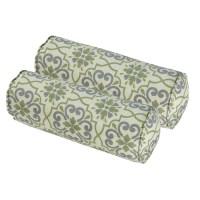 Bossima Outdoor Bolster Pillow (Set of 2) - Walmart.com